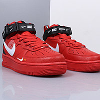 "Nike Air Force 1 Utility Mid ""Red"" (36-45), фото 5"