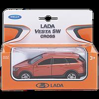 1/34 Welly Металлическая модель Lada Vesta SW CROSS