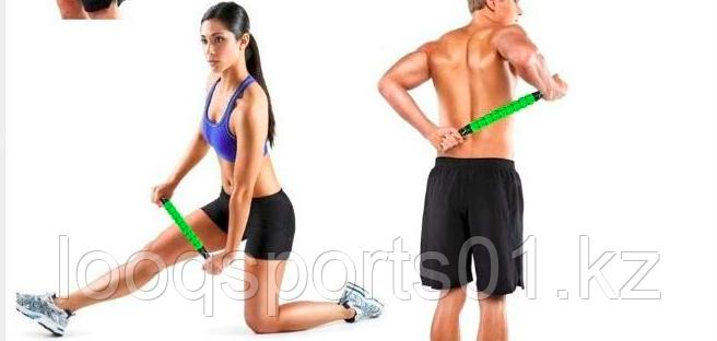 Роликовый массаж палку для мышцы (фитнес-терапия)