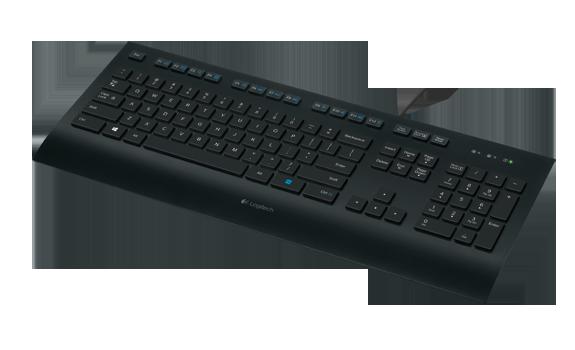 Logitech 920-005215 K280e Клавиатура Corded Keyboard Black USB