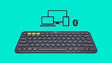 Logitech 920-007584 K380 Multi-Device беспроводная клавиатура Bluetooth