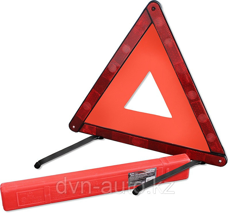 Знак аварийной остановки AVS WT-004 (пластик)