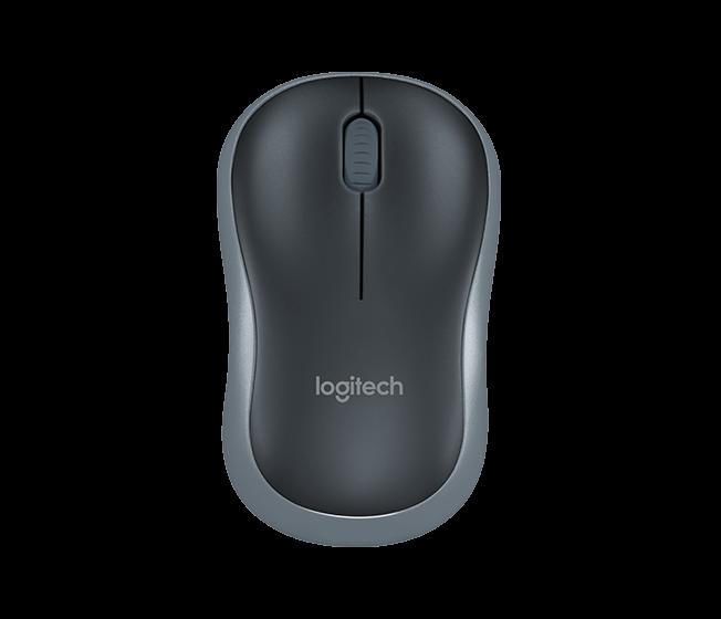 Logitech 910-002238 M185 мышь беспроводная Swift Grey