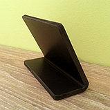 Ценник черный, меловой 8х6см, фото 3