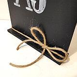 Меловая табличка-меню А5, фото 3