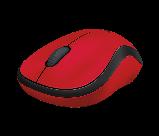 Logitech 910-004880 M220 SILENT беспроводная мышь бесшумная красная, фото 2