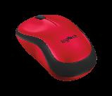 Logitech 910-004880 M220 SILENT беспроводная мышь бесшумная красная, фото 3