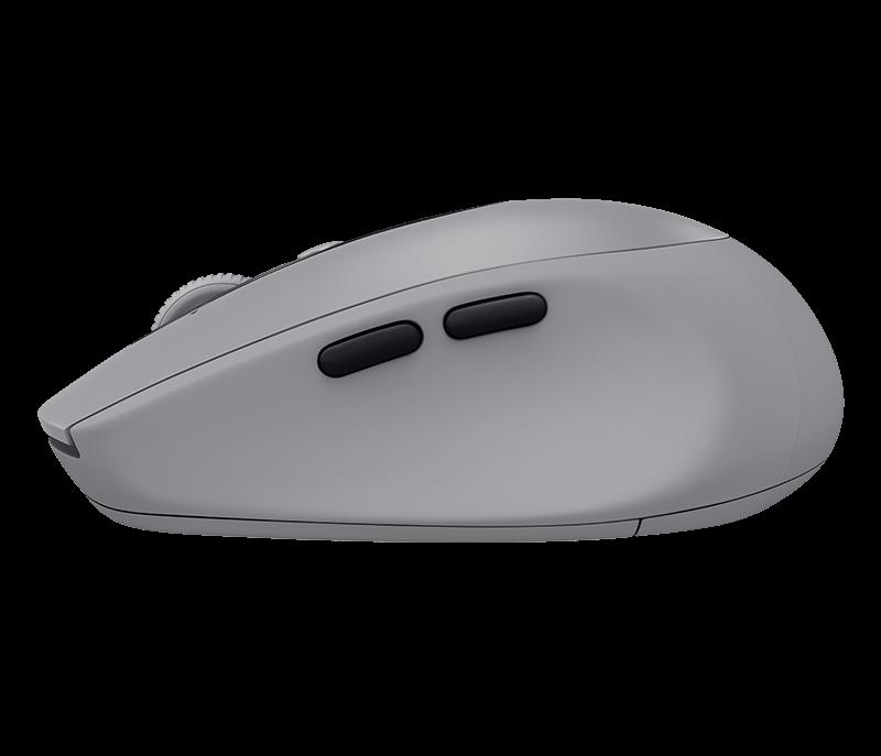 Logitech 910-005198 M590 Multi-Device Silent бесшумная беспроводная мышь MID GREY TONAL
