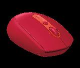 Logitech 910-005199 M590 Multi-Device Silent бесшумная беспроводная мышь RUBY, фото 3