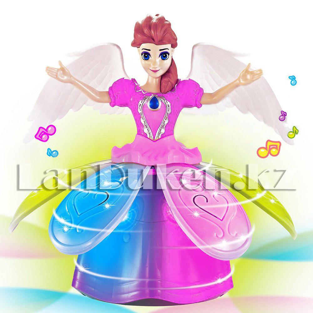 Музыкальная танцующая игрушка принцесса с подсветкой