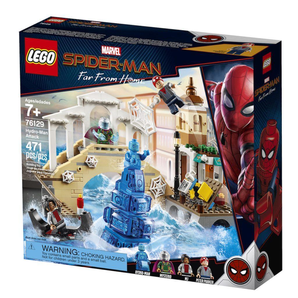 76129 Lego Super Heroes Нападение Гидромена, Лего Супергерои Marvel