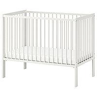 Кроватка детская ГУЛЛИВЕР белый ИКЕА, IKEA, фото 1