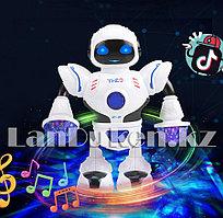Музыкальная танцующая игрушка робот с LED подсветкой HT-01