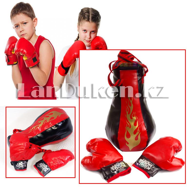 Детский боксерский набор груша и перчатки Kings Sport