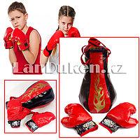 Детский боксерский набор груша и перчатки Kings Sport, фото 1
