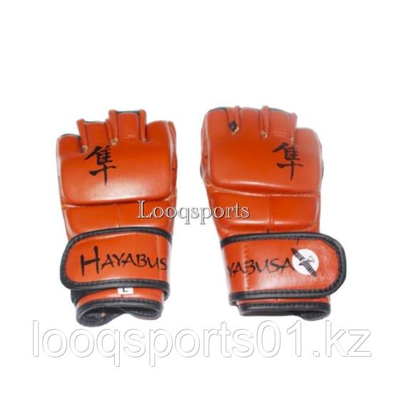 Перчатки для мма и единоборств кожа Hayabusa