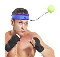 Тренажер, бойцовский файт бол мяч fight ball, мячик для бокса