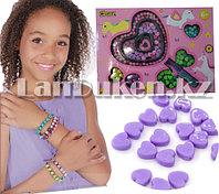 Набор для творчества Бусинки Clape звездочки, сердечки, круглые бусинки, фото 1
