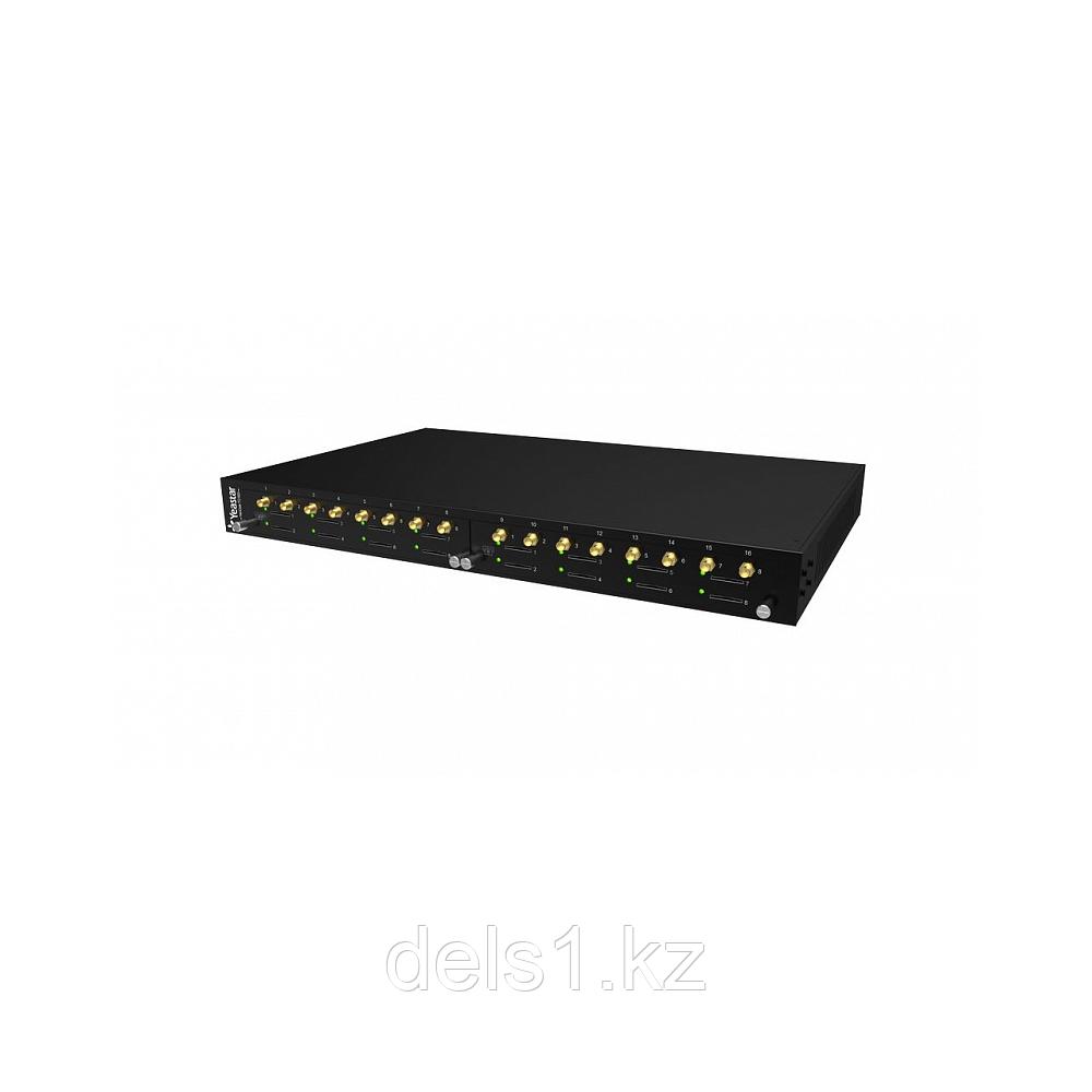 Yeastar TG1600 — VoIP-GSM-шлюз с возможностью расширения до 16 GSM-линий.
