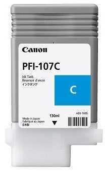 Тонер Canon PFI 107 Cyan (130 ml) (6706B001АА)