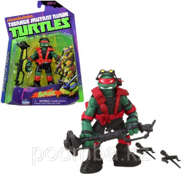 Фигурка Ninja Turtles(Черепашки Ниндзя) Технологичный Рафаэль (Раф) 12см