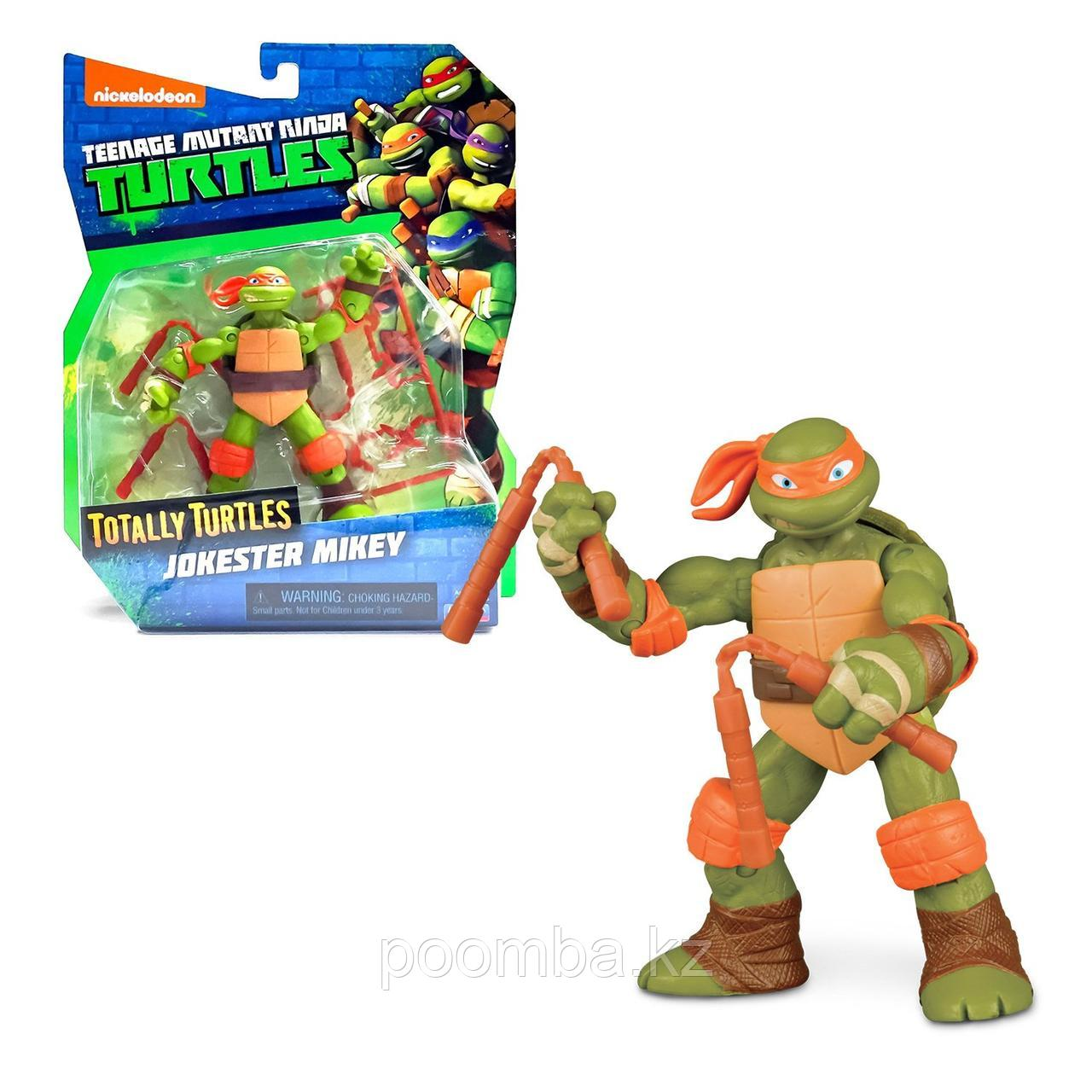 Фигурка Ninja Turtles(Черепашки Ниндзя) Микеланджело Шутник (Майки) 12см