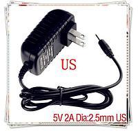 Зарядка для планшета 5V 2A 2,5x0,7мм