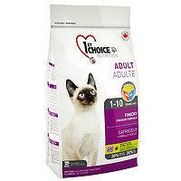 1st Choice Finicky (Фест Чойс) корм для взрослых привередливых кошек,  2,72 кг
