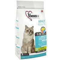 1st Choice Adult Healthy Skin & Coat (Фест Чойс) корм для кошек Здоровая кожа и шерсть с лососем, 2,72 кг
