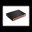 Wi-Tek WI-PS210 Неуправляемый коммутатор с функцией PoE для CCTV, фото 2