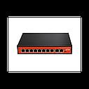 Wi-Tek WI-PS210G Неуправляемый коммутатор с функцией PoE для CCTV, фото 3