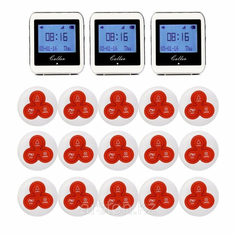 Система вызова персонала Часы пейджер для официантов