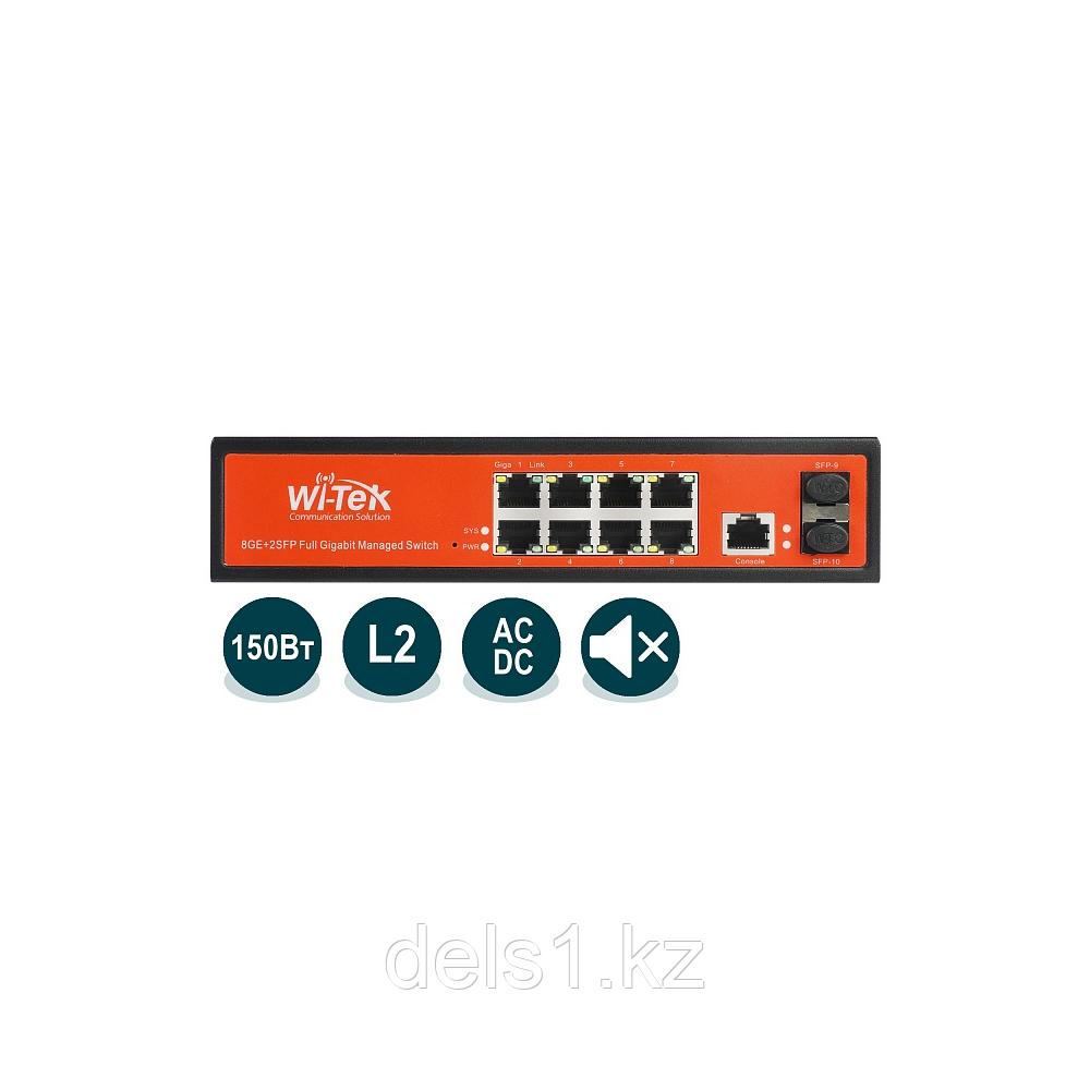 Wi-Tek WI-PMS310GF Управляемый гигабитный L2 коммутатор с функцией PoE