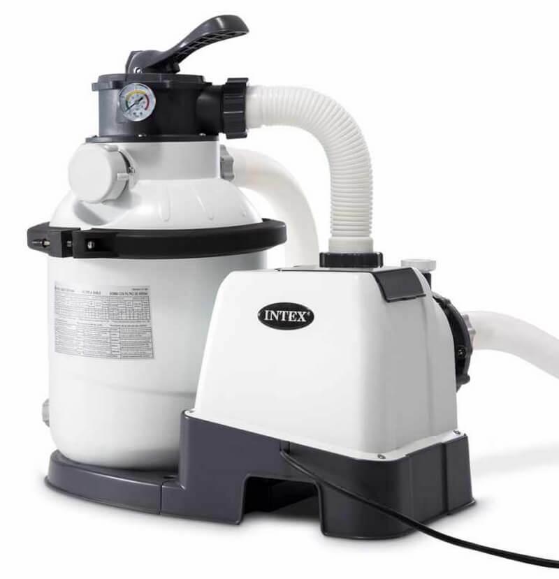 Песочный фильтр-насос для бассейна Intex 26644 / 28644, 4000 л/ч,12кг
