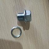 Болт картера (пробка сливная масляного поддона двигателя) ALL MITSUBISHI, фото 4