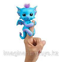 Fingerlings Интерактивный Дракон голубой