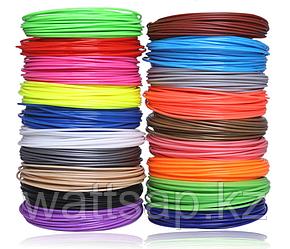 Пластик ABS для 3D ручки  (набор 20 цветов) диаметр 1.75 мм