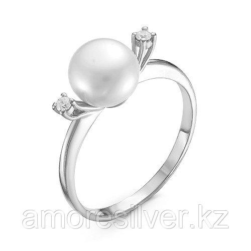 Кольцо из серебра с фианитом   Красная Пресня 2338948Д