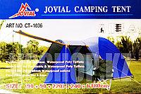 Четырехместная палатка для кемпинга и туризма Jovial CT-1036 Tuohai, доставка