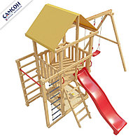 Детская игровая деревянная площадка 5-й Элемент