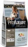 Pronature Holistic 340 г Лосось с рисом сухой корм для кошек для кожи и шерсти беззерновой