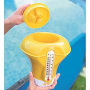 Поплавок-дозатор хлора для бассейна с термометром (желтый), Bestway 58209