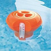 Поплавок-дозатор хлора для бассейна с термометром (оранжевый), Bestway 58209