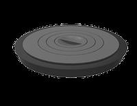 Плита чугунная 400К-Пл (комплект), фото 1