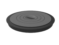 Плита чугунная 440, фото 1