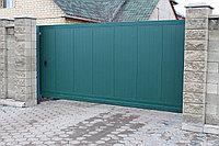 Сдвижные (откатные) ворота