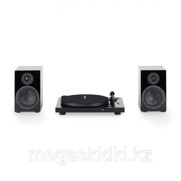 Комплект Pro-Ject Jukebox E + Speaker Box 5 Черный лак