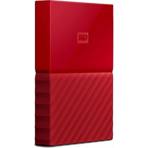 "Внешний HDD Western Digital 2Tb My Passport 2.5"" WDBLHR0020BRD-EEUE 2.5'  USB 3.0. Цвет: Red."