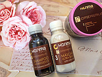 Набор для волос кератин honma tokyo coffee premium all liss 3*100мл