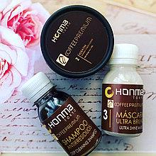 Набор для волос кератин honma tokyo coffee premium all liss 3*50мл